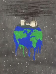 Acrylic Paints about pollution