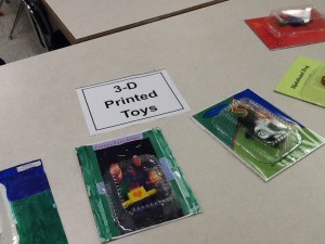 3-D printed Toys